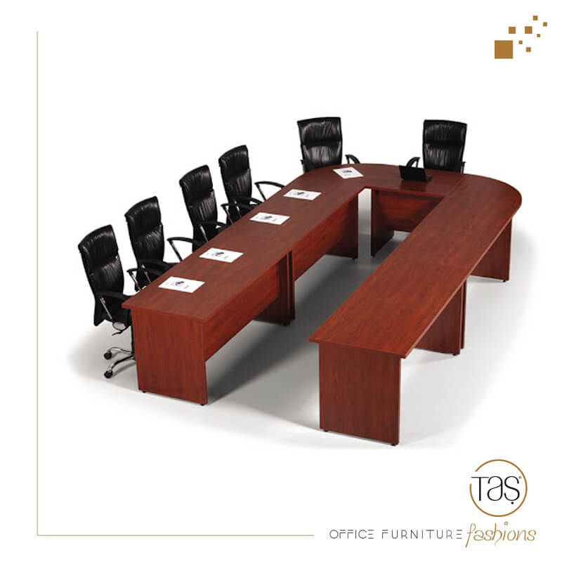 Mekom U Tipi Toplantı Masası