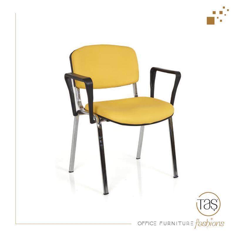 Form Kollu Sandalye (Krom)